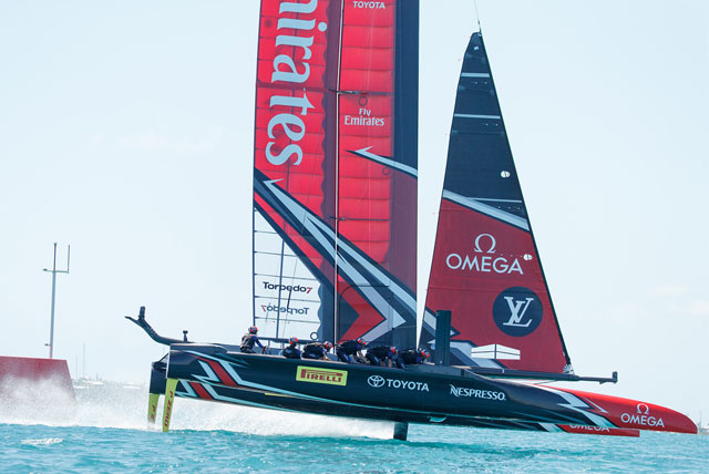 America's Cup AC50 Race Yacht